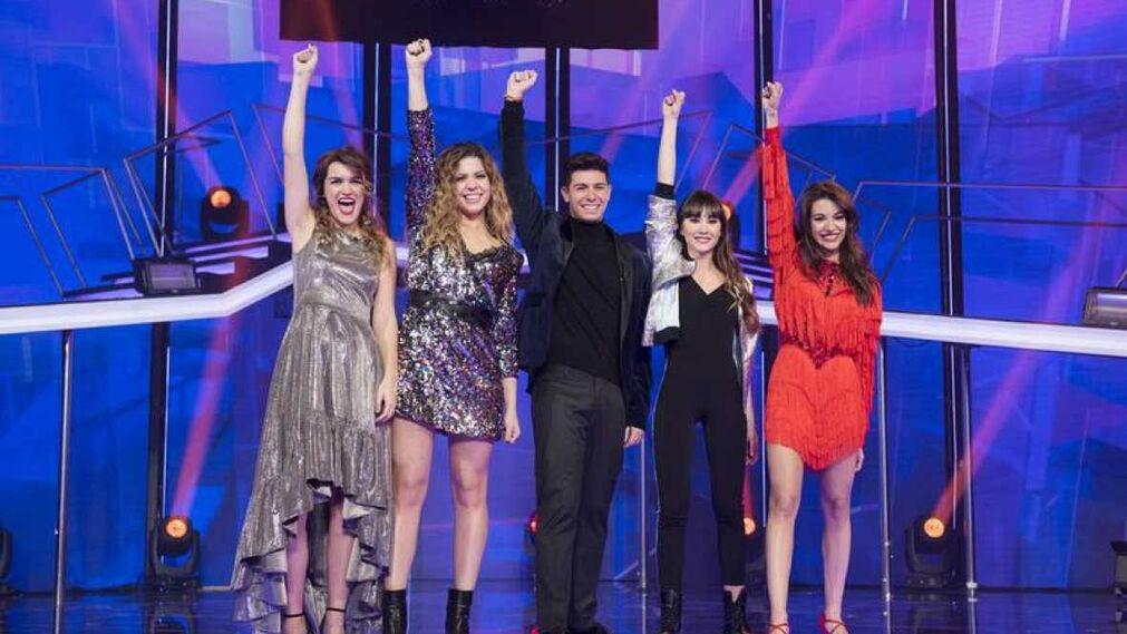 Los cinco finalistas: 'Camina'. Los cambios que han hecho a la canción que compusieron todos los participantes de esta edición de OT no convencen para defenderla en el Festival.
