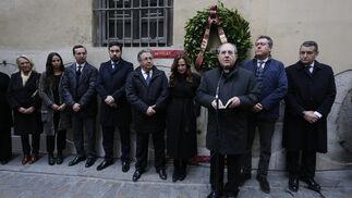 Las imágenes de la ofrenda floral en el 20 aniversario del asesinato de Alberto Jiménez-Becerril y Ascensión García