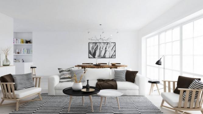 Renueva con muebles de diseño de estilo nórdico
