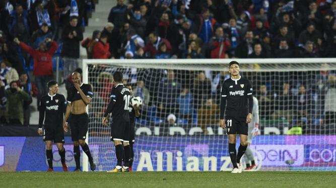 Las imágenes del Leganés-Sevilla de Copa