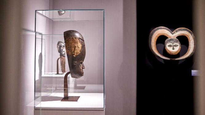 Arte tribal en la galería española Montagut.