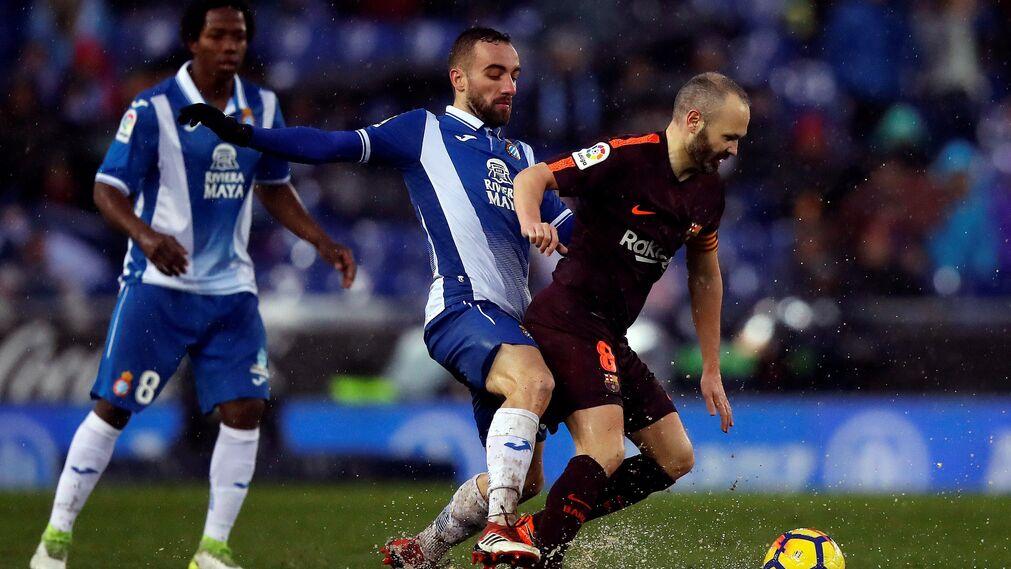 El Espanyol-Barcelona, en imágenes
