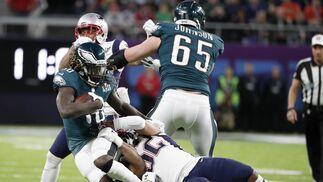 Las imágenes de la Super Bowl