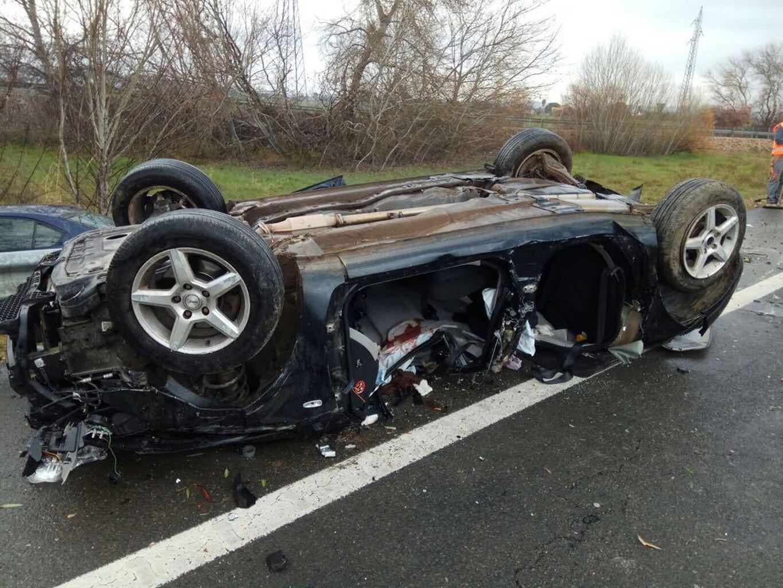 Dos muertos en un accidente de tráfico en Córdoba al intentar ...