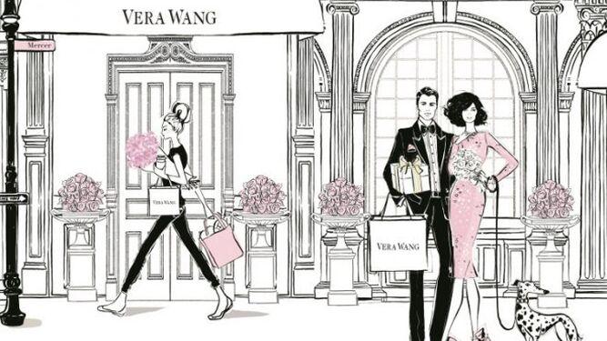 Ilustraciones de 'Nueva York a través de la moda'