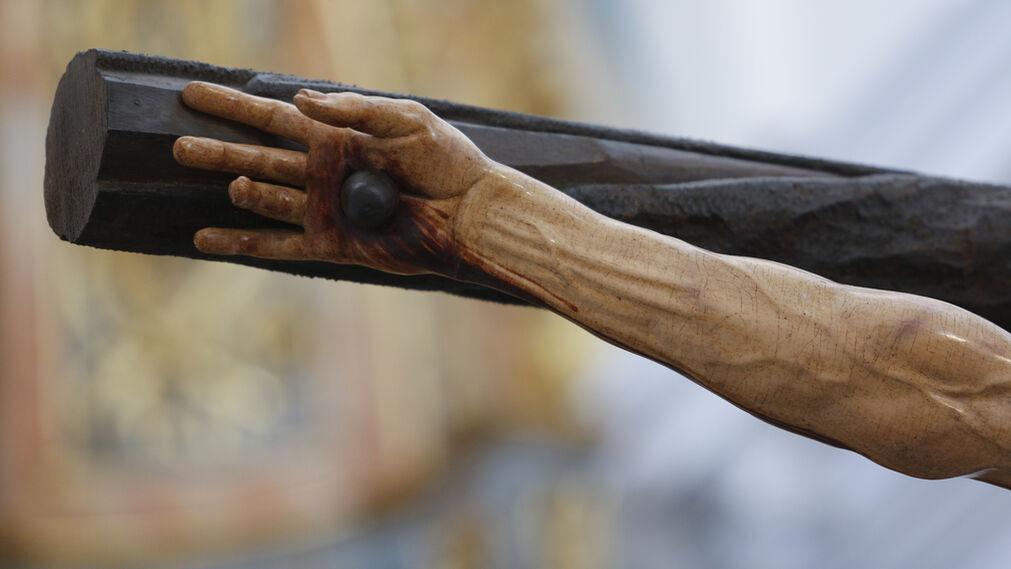 El Cristo de la Agonía, en imágenes