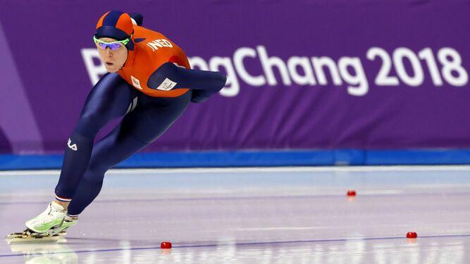 He aquí la madre de todas las piñasNadie patina como los holandesesY perdió el oro por 17 milésimas...