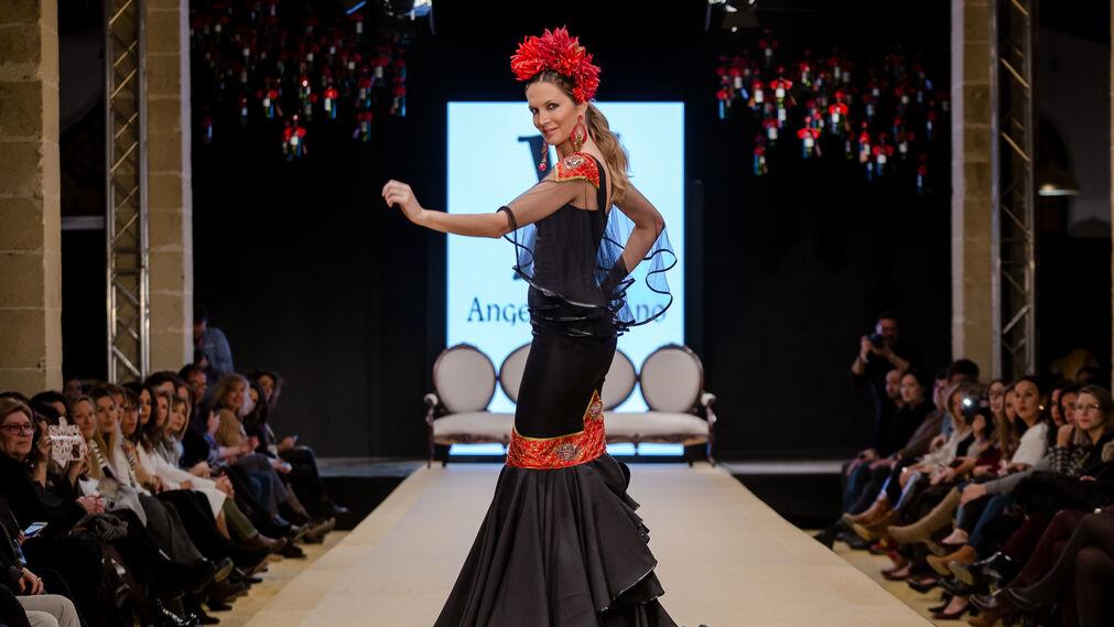 Pasarela Flamenca Jerez 2018- Ángeles Verano