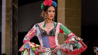 Pasarela Flamenca Jerez 2018- Violeta Monís