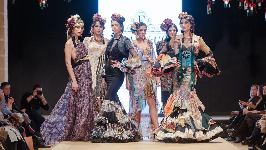 Pasarela Flamenca Jerez 2018- Violeta Monis