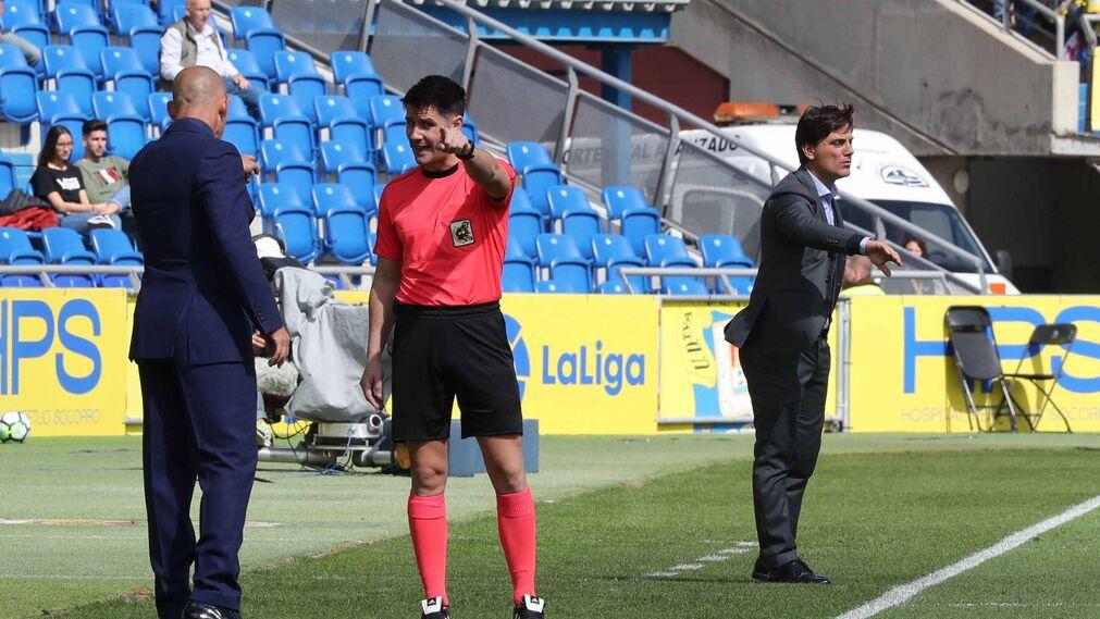 Las imágenes del Las Palmas-Sevilla