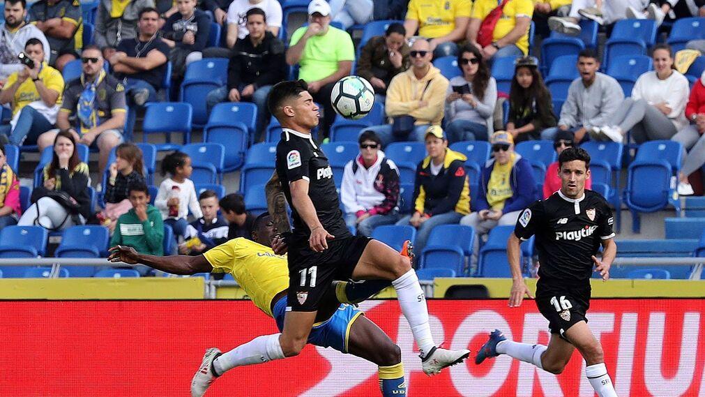 Las imágenes del UD Las Palmas-Sevilla FC