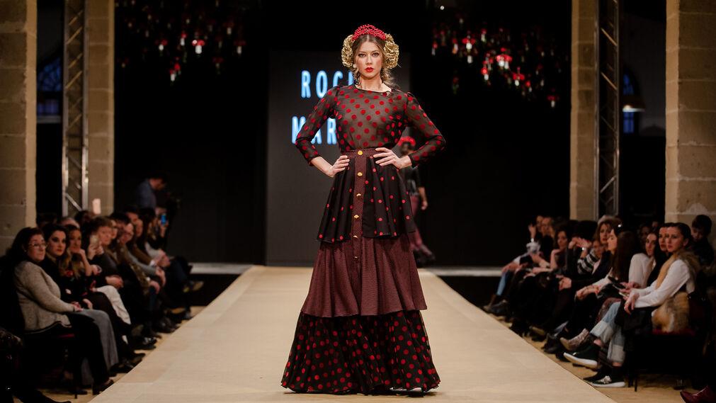 "Pasarela Flamenca Jerez 2018- Rocío Martín ""Degitana"""