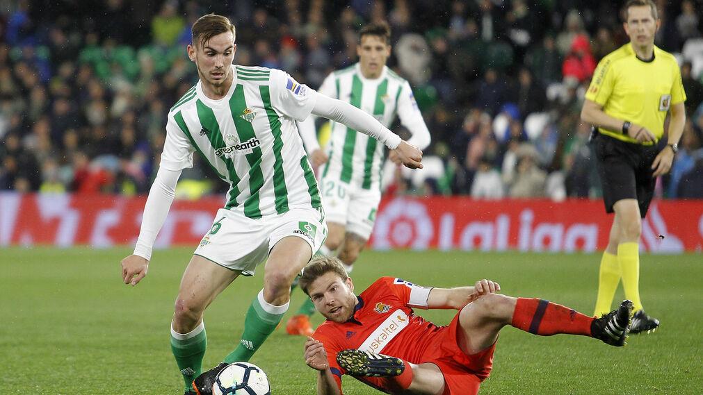 Las imágenes del Betis-Real Sociedad