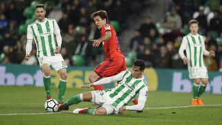 Las imágenes del Real Betis-Real Sociedad