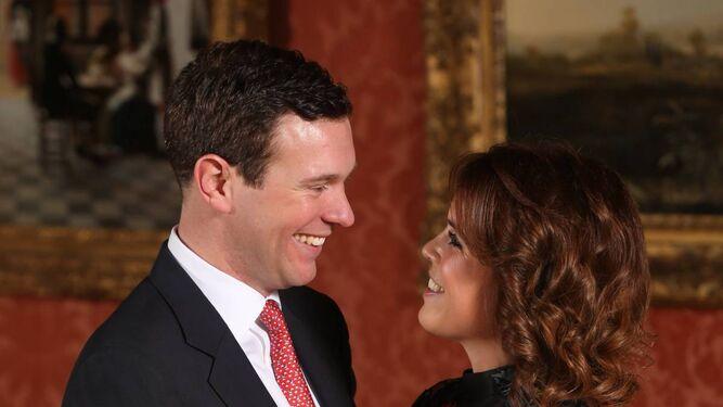 Foto oficial de Eugenia de York y Jack Brooskbank.