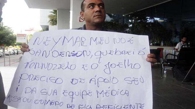 Los brasileños aprovechan la hospitalización de Neymar para hablar de sus cosas