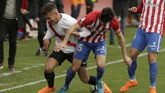 Las imágenes del Sevilla Atlético-Sporting