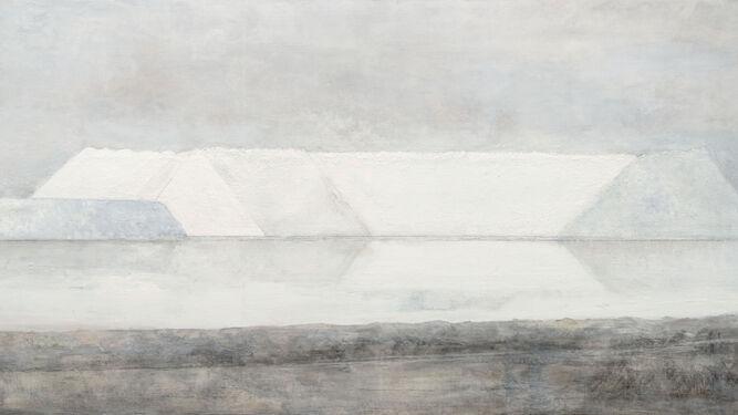 'La sal', una obra de Carmen Laffón fechada este mismo 2018, es una de las piezas que alberga el Cicus.