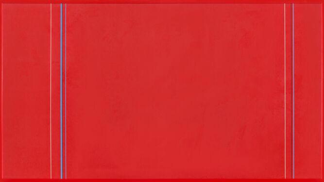 Un óleo sobre papel de José Soto.