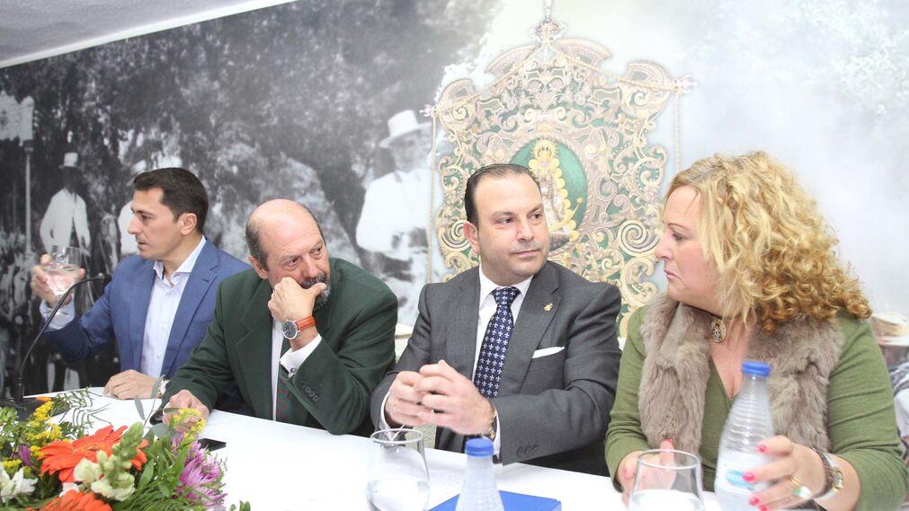 Carlos L.Quintero Martín presenta su candidatura a Hermano Mayor de la Hermandad del Rocío de Huelva