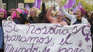 La manifestación del 8M, en imágenes.