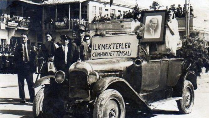 Ankara, otro de los destinos de este ensayo viajero, en 1929.