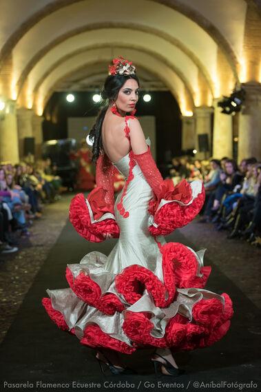 Pasarela Flamenco Ecuestre Córdoba 2018- Carmen Rojo