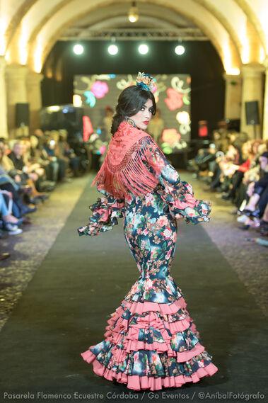 Pasarela Flamenco Ecuestre Córdoba 2018- Luisa Pérez