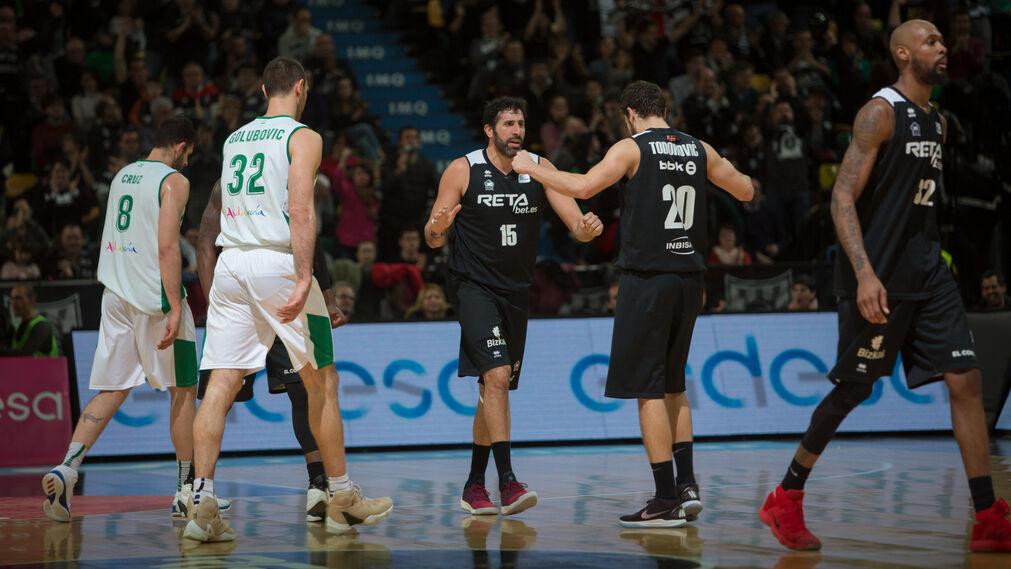 Las imágenes del Bilbao Básket-Betis Energía Plus