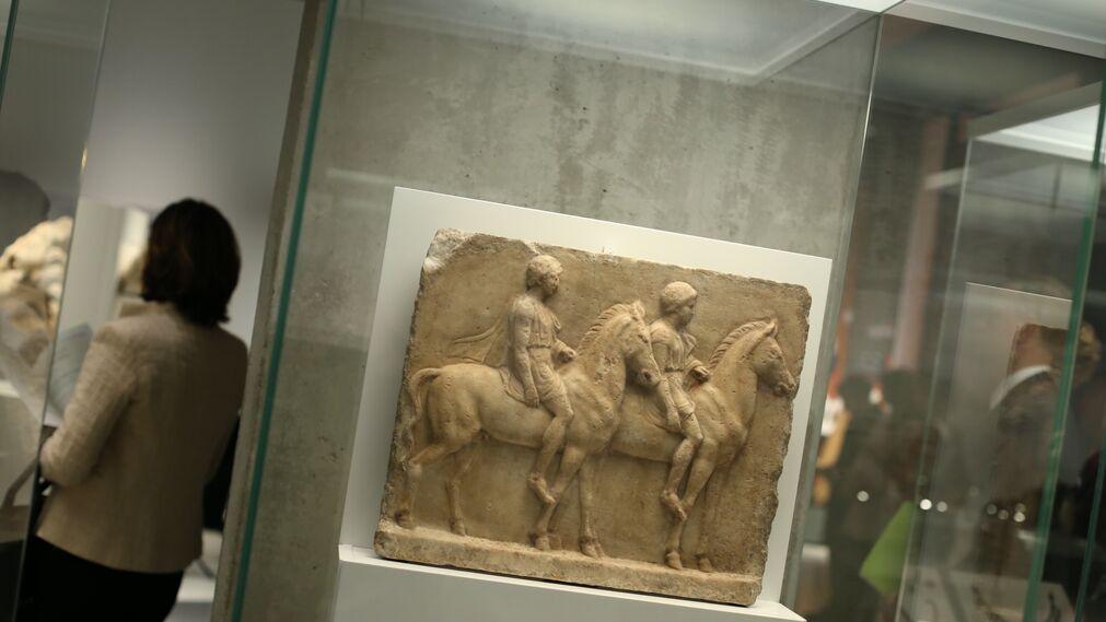 'La competición en la antigua Grecia' del Caixafórum, en imágenes