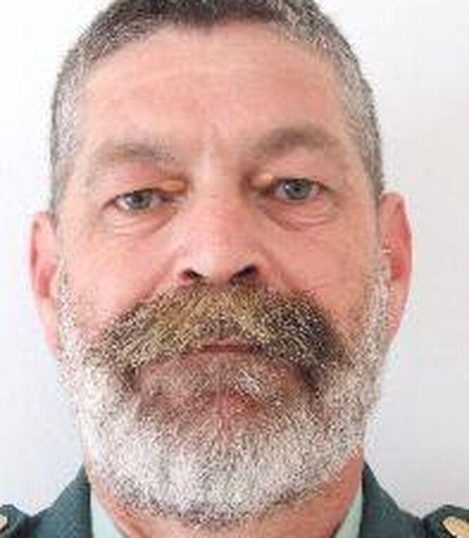 El cabo primero de la Guardia Civil fallecido, Diego Díaz.