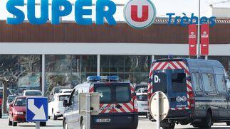 Secuestro en un supermercado del sur de Francia.