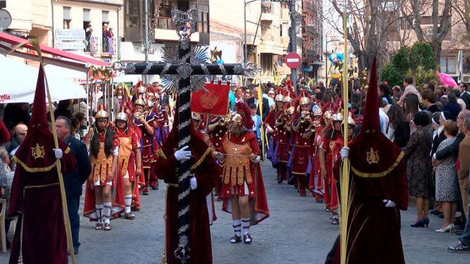 Jueves Santo en Málaga.