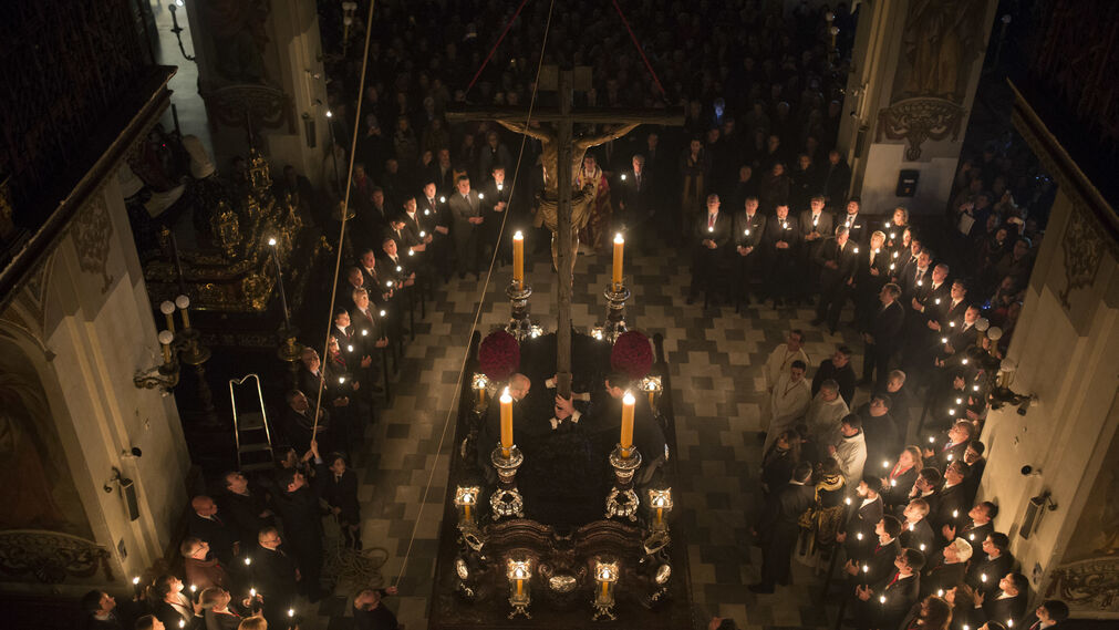 Subida del Cristo del Calvario, en Imágenes.