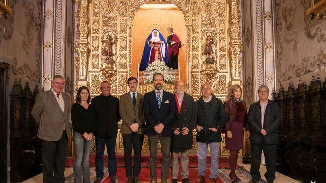 Entrega del Fondo Santa Ángela elpasado 13 de marzo.
