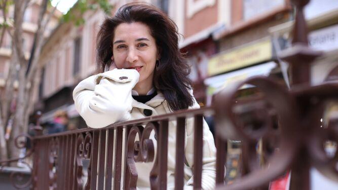Rocío Plaza Orellana, durante la entrevista.