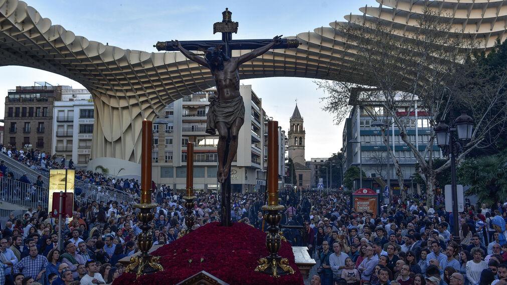 Las imágenes del Cristo de Burgos