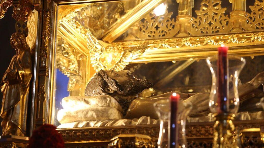Las imágenes de El Santo Entierro