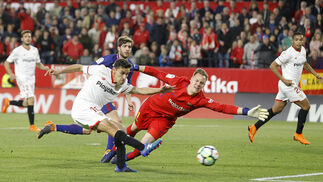 El Sevilla FC-Barcelona, en imágenes