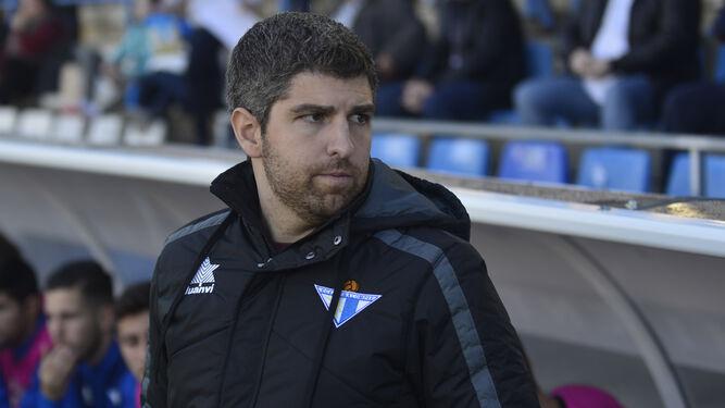 Marc Domínguez, entrenador del Écija.