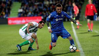 Las imágenes del Getafe- Real Betis