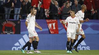 Las imágenes del Sevilla-Bayern Múnich