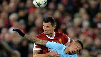 Las imágenes del Liverpool-Manchester City