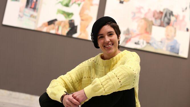 Gabriela Ayza en la sala Kstelar.