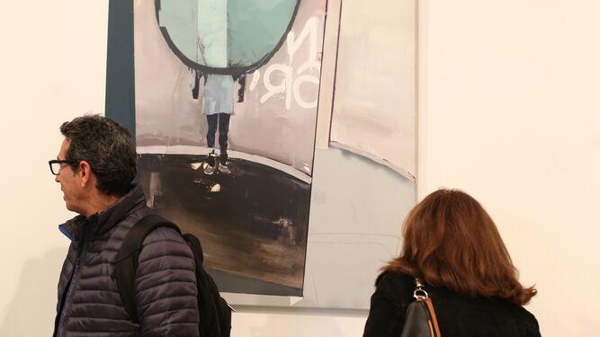 Distintas obras que forman parte de la exposición 'Soy colectiva'.