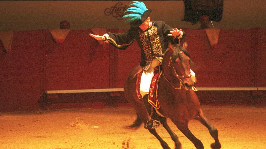 En la Feria Mundial del Toro de Sevilla.