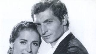 Juanita Reina y Ángel Peralta en 'La novia de Juan Lucero' (1959).