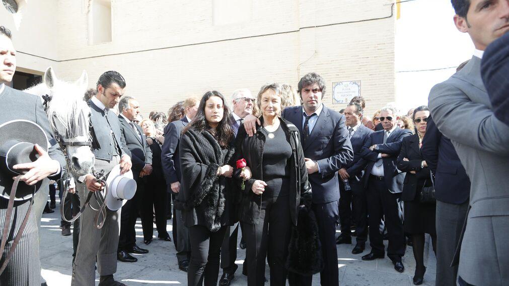 Las imágenes del funeral de Ángel Peralta