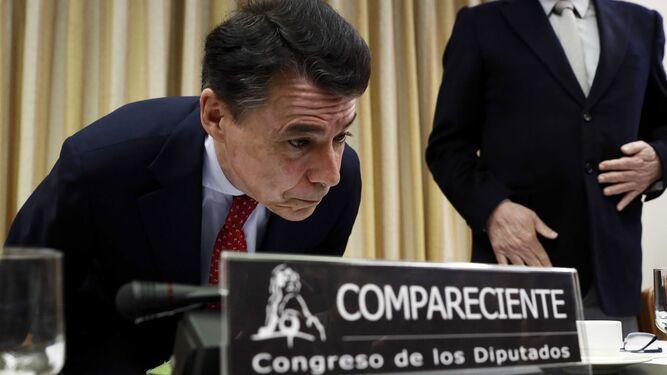 Ignacio González en el Congreso de los Diputados